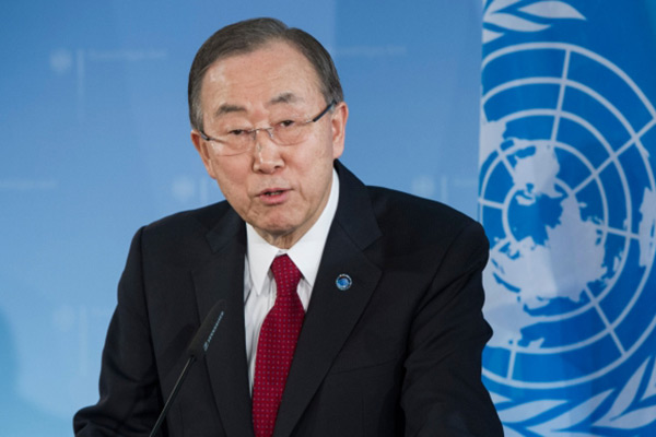Secretary General Ban-Ki moon